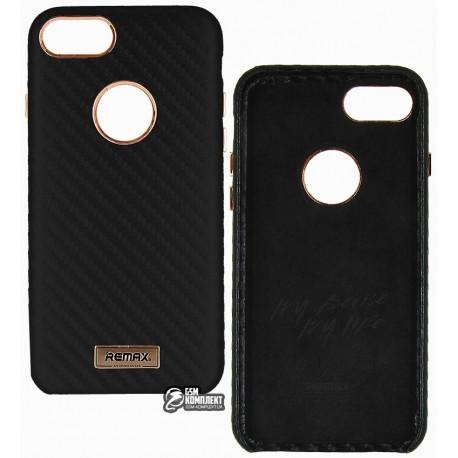 Чехол-накладка Remax Carbon Series Case for для iPhone 7 черная