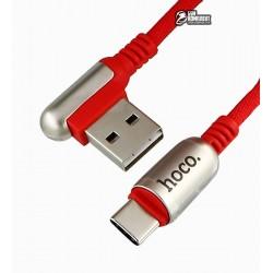 Кабель Type-C - USB, Hoco U17 capsule, 1,2 метра