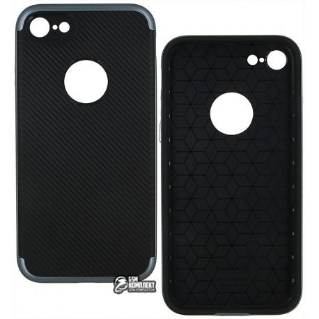 Чехол-накладка DUZHI 2 in1 Hybrid Combo Mobile Phone Case для iPhone 7 серая