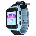 Детские часы Smart Baby Watch Q529 1.4 , с GPS трекером, IP66, синие