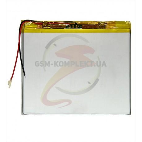 Аккумулятор универсальный, 80 мм, 95 мм, 2,6 мм, Li-ion, 3,7 В, 2100 мАч