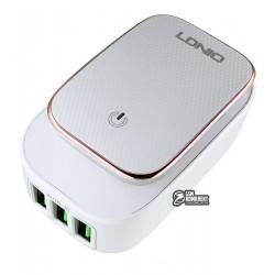 Сетевые зарядные устройства Ldnio A3305 c MicroUSB (3usb port 3,4A с подсветкой)