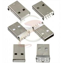 Штекер USB-A smd (USB-02-MS-90)