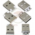 Штекер USB-A SMD USB-114