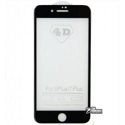 ЗакаленноезащитноестеклодляAppleiPhone7Plus(0.2mm)4DGlass9Hчерное