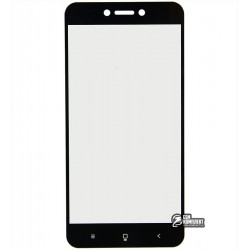 Закаленное защитное стекло для Xiaomi Redmi 5A, 0,26 мм 9H, 2.5D, черное