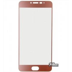 Закаленное защитное стекло для Meizu M3 Note, 0,26 mm 9H, rose gold