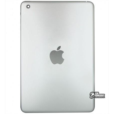 Задняя крышка для планшета Apple iPad Mini, серебристая, (версия Wi-Fi)
