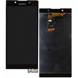 Дисплей для Sony G3311 Xperia L, G3312 Xperia L Dual, G3313 Xperia L, черный, с сенсорным экраном