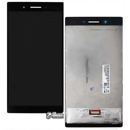 Дисплей для планшета Lenovo Tab 3 TB3-730, черный, с сенсорным экраном, #TV070WSM-TL1