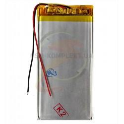 Аккумулятор универсальный, 70 мм, 35 мм, 2,4 мм, Li-ion, 3,7 В, 600 мАч