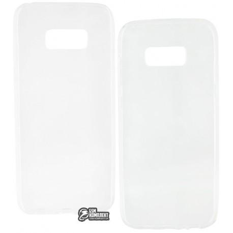 Чехол ультратонкий для Samsung Galaxy S8 Plus силиконовый, прозрачный