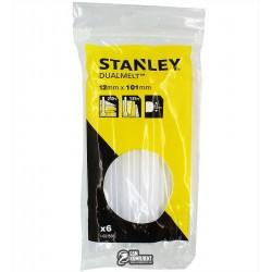 Термоклей Stanley DualTemp, d=11,3мм, L=100 мм, 6 шт