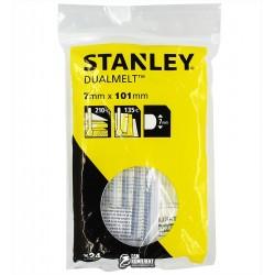 Термоклей Stanley DualTemp, d=7мм, L=100 мм, 24 шт