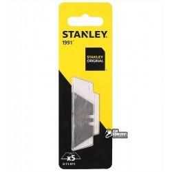 """Лезвия Stanley трапецевидные """"1991"""", длина 50мм, 5шт"""