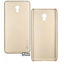 Чохол захисний Nillkin для Meizu M5s - Frosted Shield, пластик, золотой