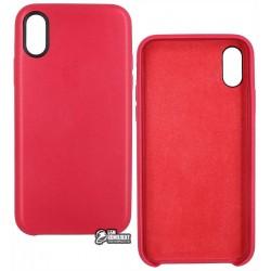 Защитный чехол Apple iPhone X Leather Case (copy)