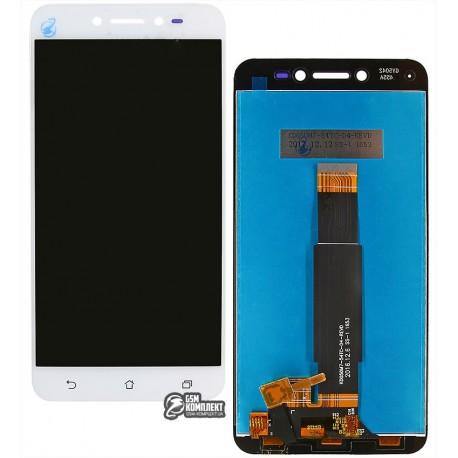 Дисплей для Asus ZenFone Live (ZB501KL), білий, з сенсорним екраном