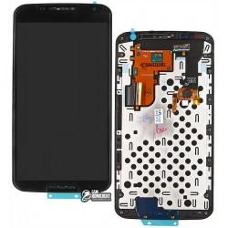 Дисплей для Motorola XT1100 Nexus 6 Google, черный, с сенсорным экраном (дисплейный модуль)
