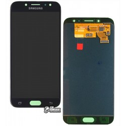 Дисплей для Samsung J730F Galaxy J7 (2017), черный, с сенсорным экраном, original (PRC)