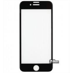 Закаленное защитное стекло DIGI Glass Screen для iPhone 6 / 6s / 7 / 8, черное, 3D, 0.26мм, 9H