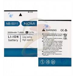 Аккумулятор (акб) NB-5011 для Nomi i5011 Evo M1, Li-ion, 3,7 В, 2000 мАч, original