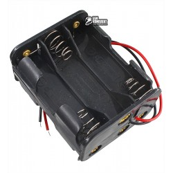 "Отсек для батарей 6xAA-1 ""кубик"" с проводами"