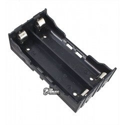 Отсек для батарей 2 x 18650 c контактами для установки на плату