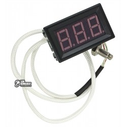Термометр XH-B310 цифровой встраиваемый от -30 °C, до 800 °C, с термопарой К-типа