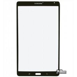 Стекло корпуса для планшета Samsung T700 Galaxy Tab S 8.4, T705 Galaxy Tab S 8.4 LTE, серое
