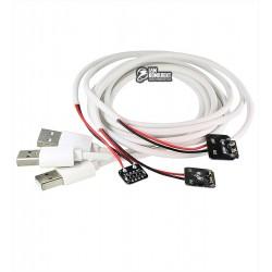 Щупы для блока питания iP-M/A с разъёмами для подключения плат iPad mini/3/4/Air1/Air2