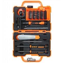 Набор инструментов JAKEMY JM-8139 ручка, 35 бит, удлинитель, пинцет, нож, отвёртки +1.2, пенталоб 0.8