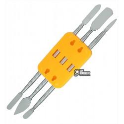 Набор двусторонних металлических лопаток AIDA AD-i5 3 in 1, для разборки корпусов