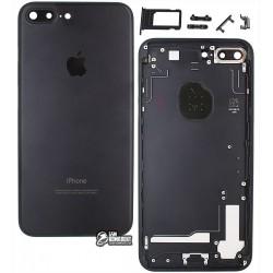 Корпус для Apple iPhone 7 Plus, черный, матовый, Black Matte