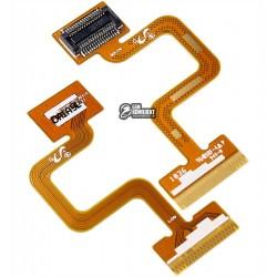 Шлейф для Samsung E1310, межплатный, с компонентами