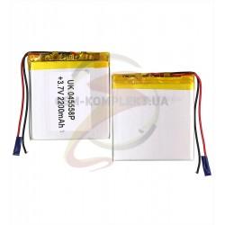 Аккумулятор универсальный, 58 мм, 55 мм, 4 мм, Li-ion, 3,7 В, 2200 мАч