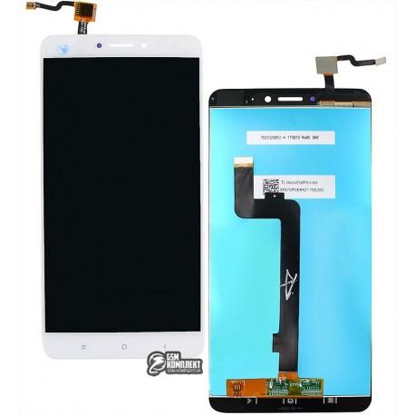 Дисплей для Xiaomi Mi Max 2, білий, з сенсорним екраном