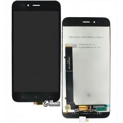 Дисплей для Xiaomi Mi A1, черный, с сенсорным экраном