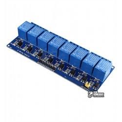 Восьмиканальный релейный модуль для ARDUINO контроллеров 5V