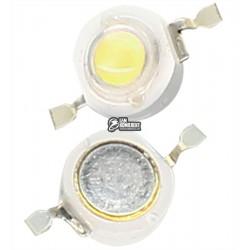 Светодиод 3W холодный-белый (6000-6500K) BRILLIANT