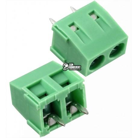 Клеммник двойной KF127-500-02P шаг 5,0мм (KEFA)