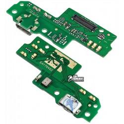 Шлейф для Huawei P9 Lite, коннектора зарядки, с микрофоном, плата зарядки