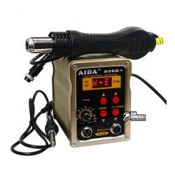 Термоповітряна паяльна станція AIDA 858D+ з паяльником