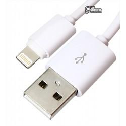 Кабель Lightning - USB, Ldnio SY-03, круглый, 1 метр, 2.1 A
