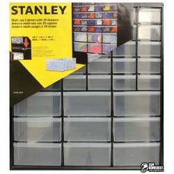 Органайзер STANLEY пластмасовый вертикальный на 39 выдвижных отделений