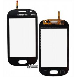 Тачскрин для Samsung S6810 Galaxy Fame, синий