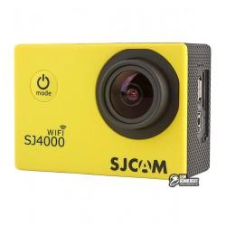 Экшн-камера SJCAM SJ4000 Wi-Fi желтая
