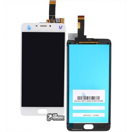 Дисплей для Meizu M6, білий, з сенсорним екраном, original (PRC)
