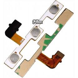 Шлейф для Huawei Y3 II, кнопки включения, кнопок звука, (3G версия), LTE версия
