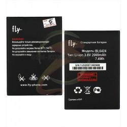 Аккумулятор (акб) BL6424 для Fly FS505, (Li-ion 3.7V 2000mAh), original